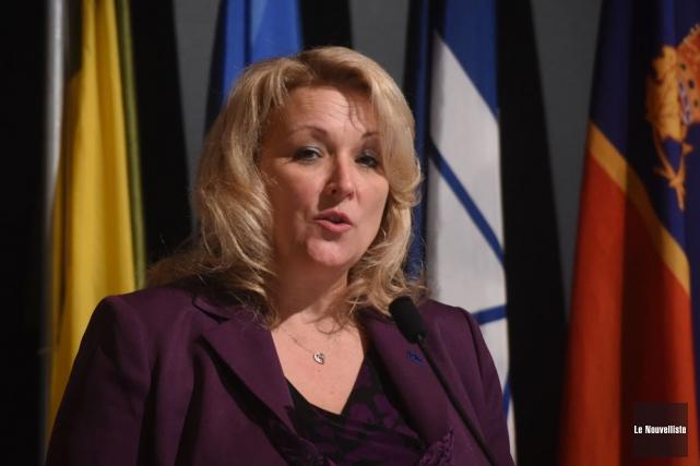 La vice-première ministre, Lise Thériault.... (Photo: François Gervais, Le Nouvelliste)