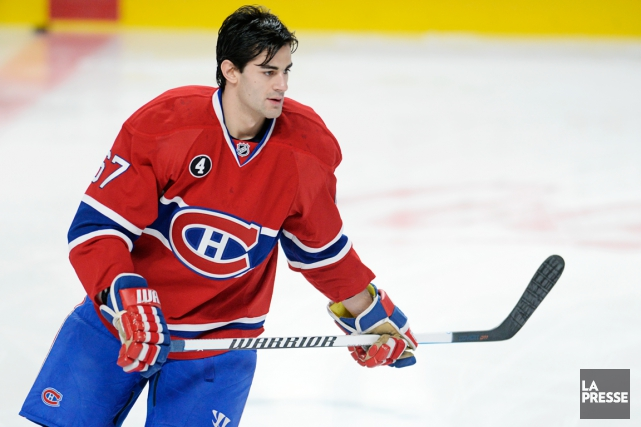 Max Pacioretty... (Photo Bernard Brault, archives La Presse)