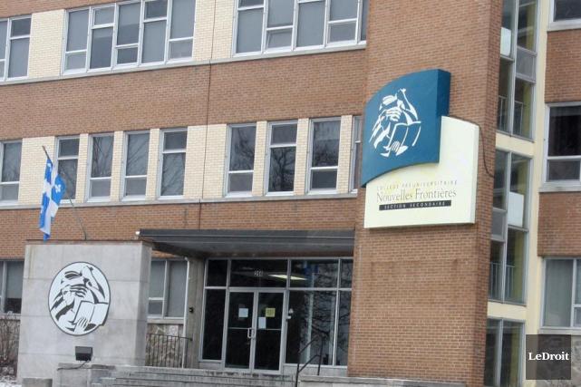 Les élèves du Collège Nouvelles Frontières de Gatineau risquent de faire des... (Patrick Woodbury, Archives LeDroit)