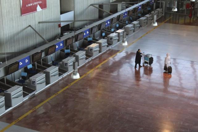 À Nice, premier aéroport de province, ce sont... (Photo Lionel Cironneau, AP)
