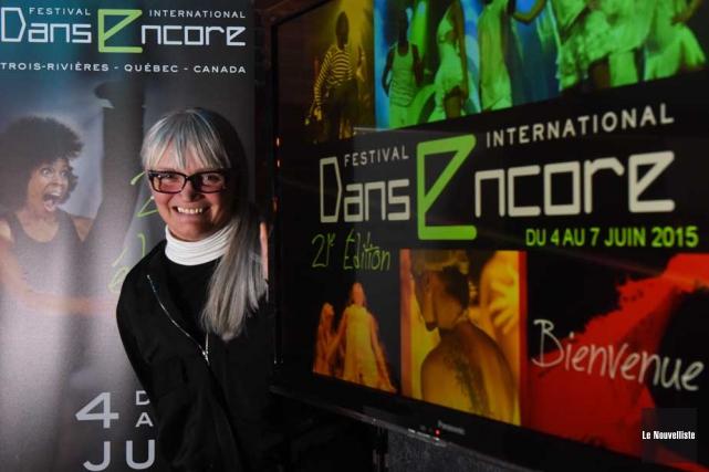 La directrice générale du Festival Danse Encore, Claire... (Photo: François Gervais, Le Nouvelliste)