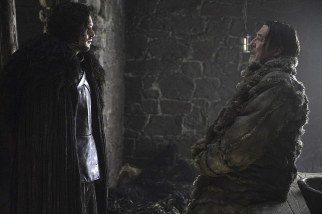Jon Snow (Kit Harington) et Mance Rayder (Ciaran... (Photo fournie par HBO)