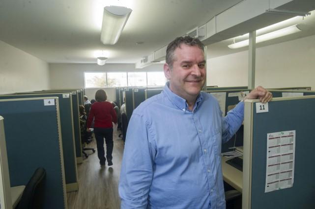 Le président-directeur général de Cible recherche, Jean Laroche....