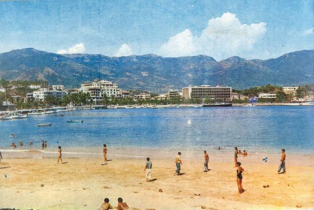 Au cours des années40 et 50, les vedettes... (Photo d'archives. Photo fournie par le Bureau de promotion touristique d'Acapulco)