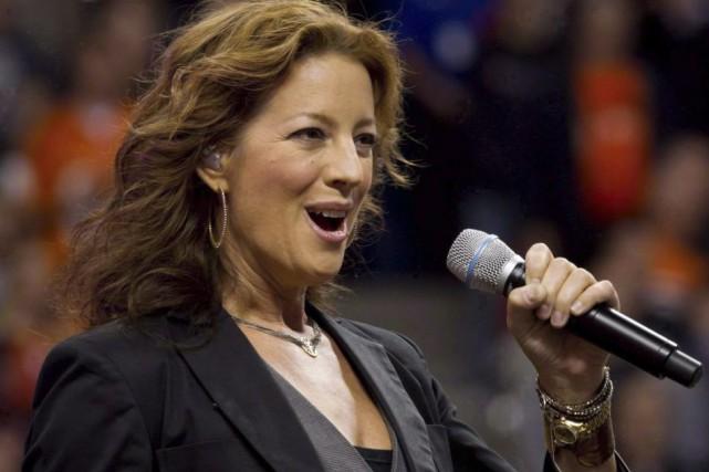 Sarah McLachlan lors d'une prestation à Vancouver en... (Photo: archives La Presse Canadienne)