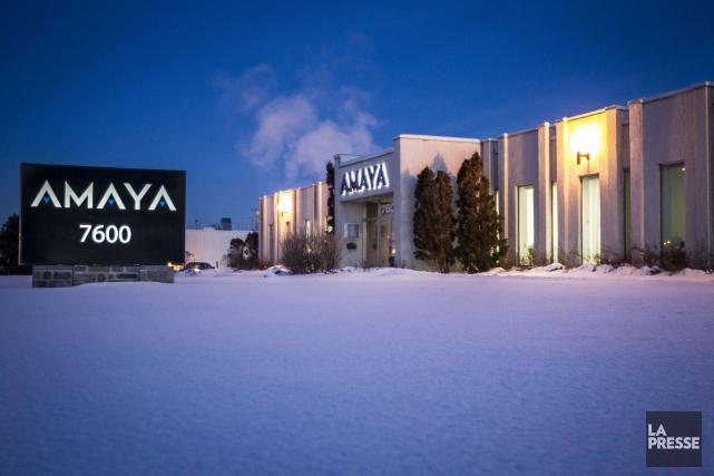 Amaya(T.AYA)a annoncé jeudi la vente de ses filiales... (PHOTO OLIVIER PONTBRIAND, ARCHIVES LA PRESSE)