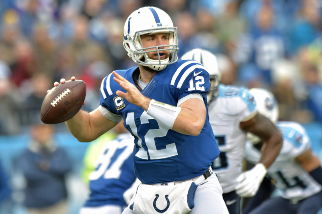 Andrew Luck... (Photo Jim Brown, USA Today)