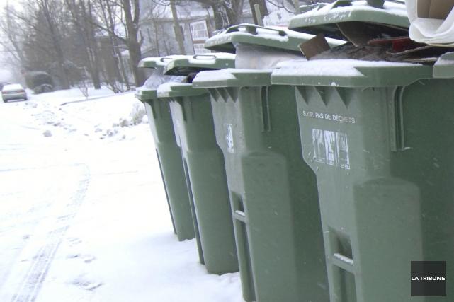 La Régie intermunicipale de gestion des déchets de la région de Coaticook... (Archives La Tribune)