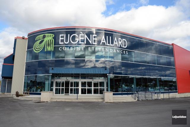 Eugène Allard, cuisine et tendances, est une entreprise... ((Archives Le Quotidien))