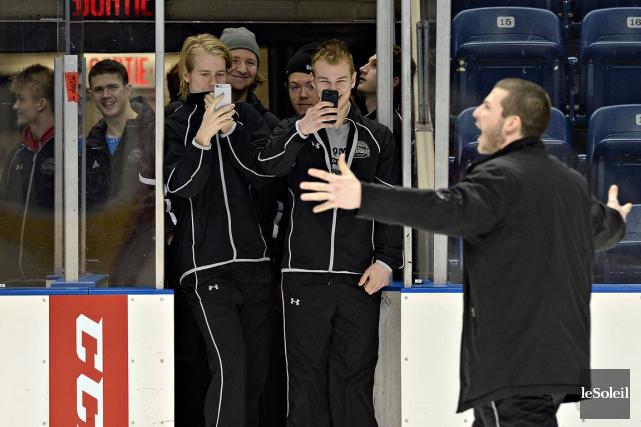 Les joueurs des Islanders de Charlottetown étaient heureux... (Le Soleil, Patrice Laroche)