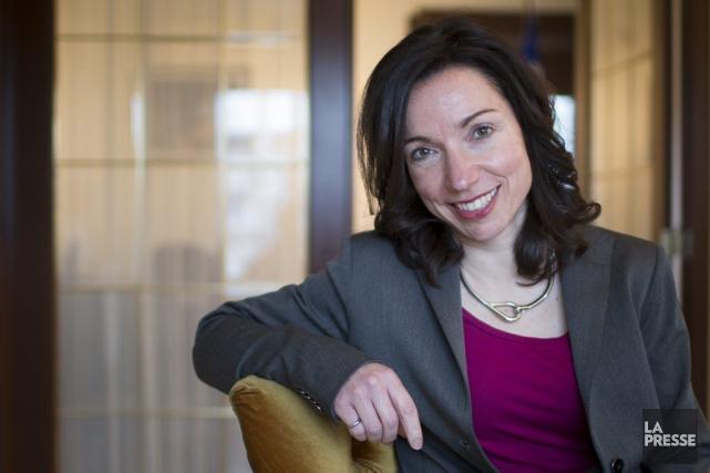 Martine Ouellet fait partie des «souverainistes pressés».... (PHOTO OLIVIER PONTBRIAND, LA PRESSE)