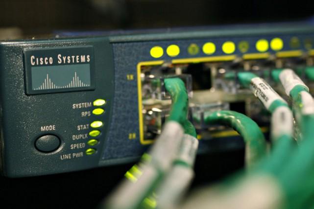 La connexion internet au chalet est lente, très lente, trop lente? Le Conseil... (Photo archives Bloomberg)
