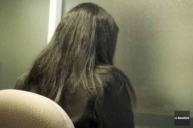 La victime alléguée d'une agression sexuelle, impliquant quatre... (Photo: Stéphane Lessard, Le Nouvelliste)