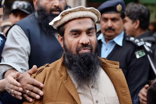 Zakiur Rehman Lakhvi, considéré par l'Inde comme le... (PHOTO AAMIR QURESHI, ARCHIVES AFP)