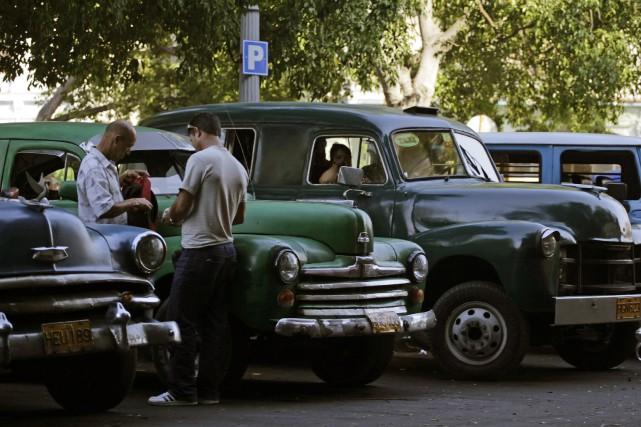 L'économie cubaine a crû ces dix dernières années... (PHOTO ENRIQUE DE LA OSA, ARCHIVES REUTERS)