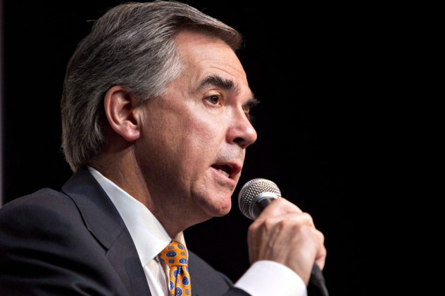 Le premier ministre de l'Alberta, Jim Prentice... (PHOTO JASON FRANSON, ARCHIVES PC)