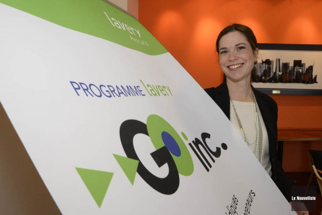 Me Myriam Lavallée, du bureau Lavery, à Trois-Rivières,... (Photo: Sylvain Mayer, Le Nouvelliste)