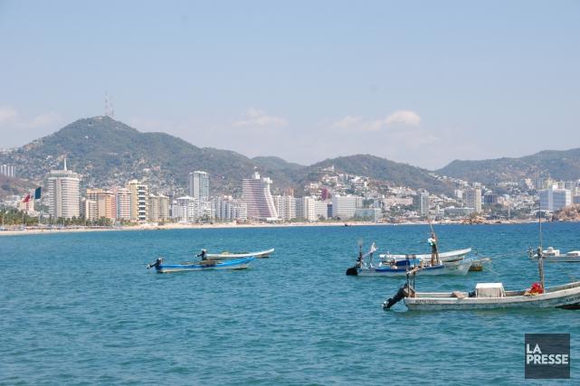 À Acapulco, les gens d'affaires et les représentants... (Photo archives La Presse)
