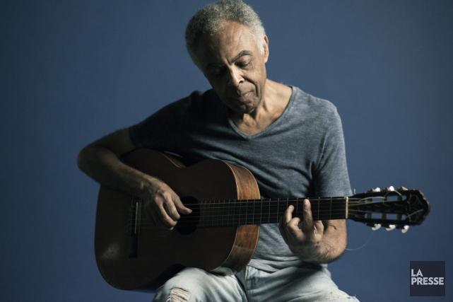 La légende de la musique brésilienne Gilberto Gil, 73 ans, hospitalisé depuis... (PHOTO ARCHIVES LA PRESSE)