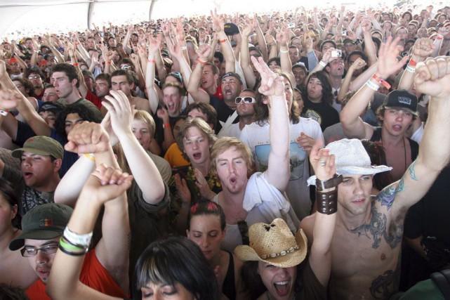 Le festival Coachella, considéré comme précurseur en termes... (Photo: archives La Presse Canadienne)