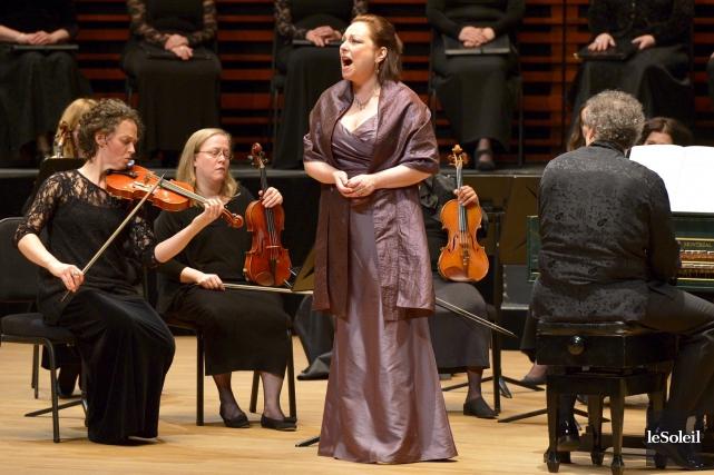 Les spectateurs ont pu redécouvrir la sopranoDorothea Röschmann... (Le Soleil, Yan Doublet)