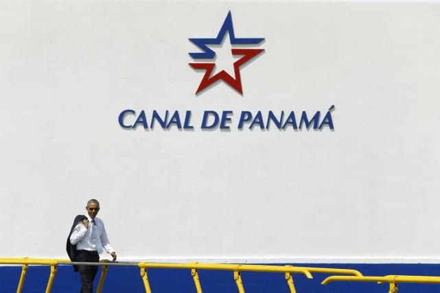Au Panama, le président Obama doit rencontrer son... (PHOTO JONATHAN ERNST, REUTERS)