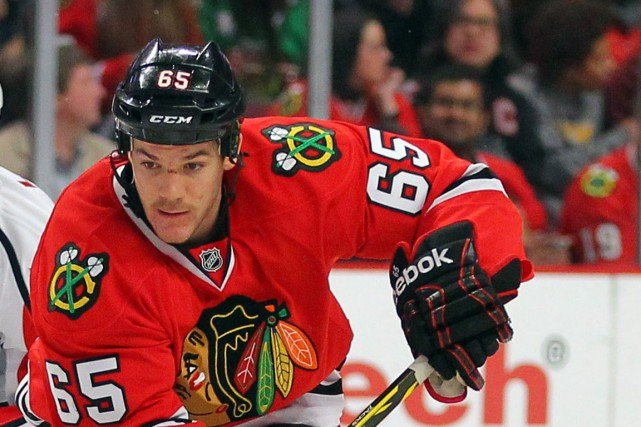 Andrew Shaw... (PHOTO DENNIS WIERZBICKI, ARCHIVES USA TODAY)