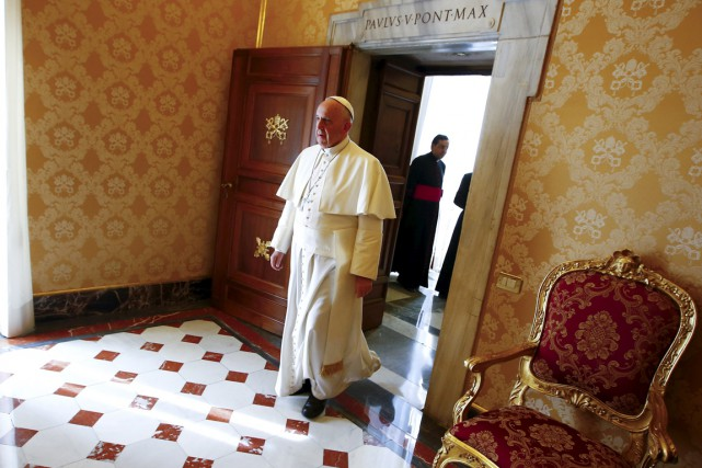 Le pape François s'opposerait à la nomination de... (PHOTO TONY GENTILE, REUTERS)