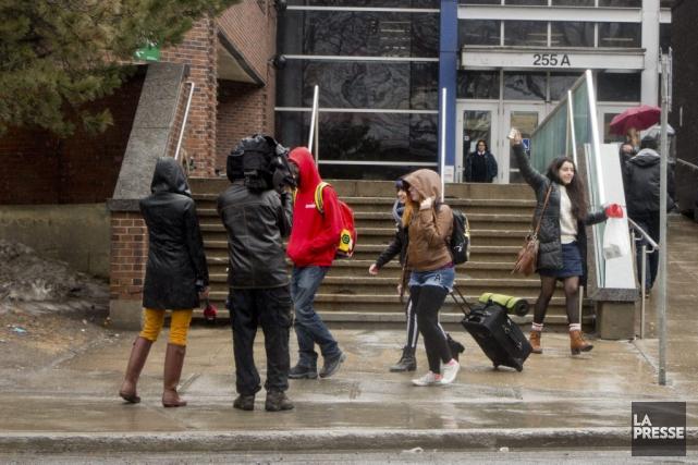 Selon l'association qui représente 65000 étudiants provenant de... (PHOTO SEBASTIEN PEDRAGLIO, ARCHIVES LA PRESSE)