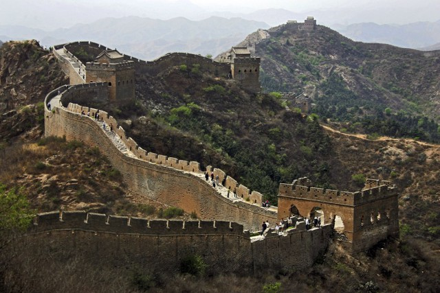 La Grande Muraille de Chine.... (Photo Chang W. Lee, The New York Times)