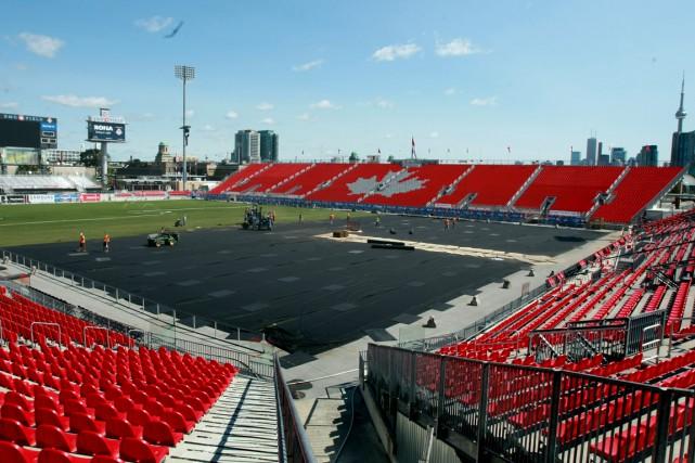 Même avec l'agrandissement du BMO Field, le président... (PHOTO ANDREW WALLACE, ARCHIVES PC)