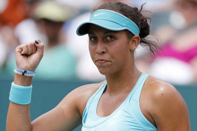 Madison Keys... (PHOTO MIC SMITH, AP)