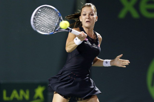 Agnieszka Radwanska... (PHOTO GEOFF BURKE, ARCHIVES USA TODAY)