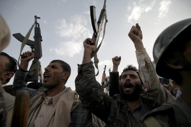 Deux avions chargés de 32 tonnes d'aide médicale ont atterri vendredi au Yémen,... (Photo Reuters)