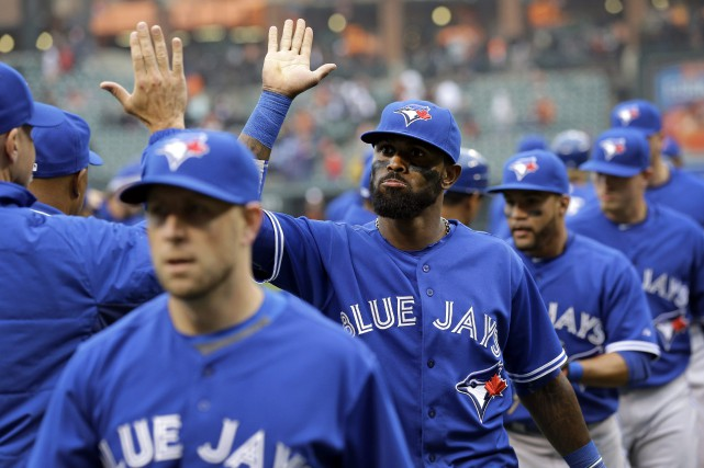 Les Blue Jays ont terminé le match avec... (PHOTO PATRICK SEMANSKI, AP)