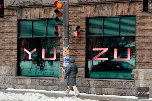 Les locaux de l'ancien restaurant Yuzu sont inoccupés... (Photothèque Le Soleil, Erick Labbé)