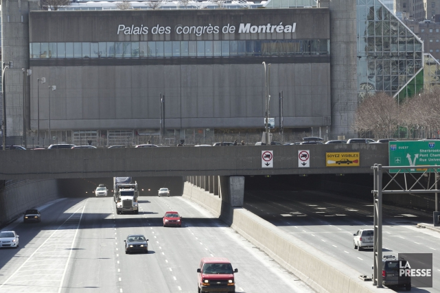 L'autoroute sera complètement fermée, sur une distance de... (PHOTO HUGO-SÉBASTIEN AUBERT, ARCHIVES LA PRESSE)