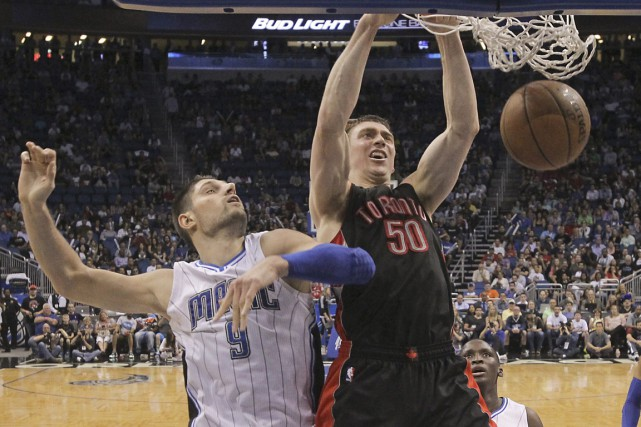 Raptors: la magie op�re encore contre Orlando