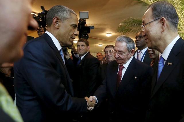 Selon une porte-parole de la Maison-Blanche, les deux... (Photo Reuters)