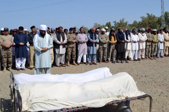Les ouvriers tués venaient tous de provinces autres... (PHOTO PRESS INFORMATION DEPARTMENT, AFP)