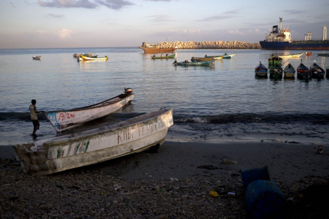 Le port somalien de Bossasso, au Puntland.... (Photo Karel Prinsloo/Adeso, Reuters)