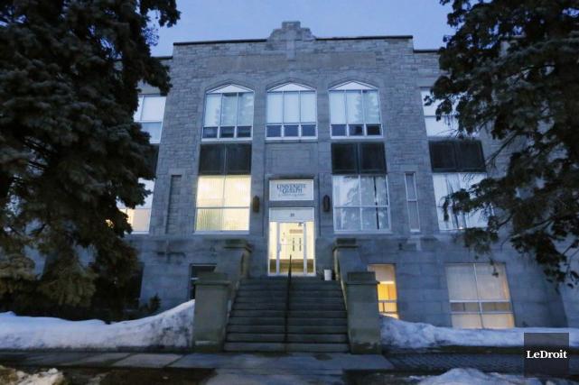 Le Collège d'Alfred, dans l'Est ontarien... (Simon Séguin-Bertrand, Archives LeDroit)