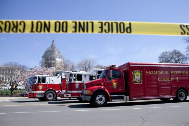 Le bâtiment du Congrès et le centre des... (PHOTO CAROLYN KASTER, AP)