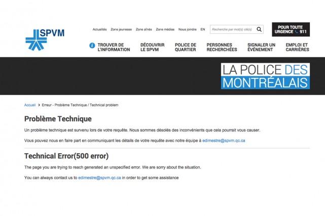 Le mouvement «hacktiviste» Anonymous Québec a revendiqué samedi après-midi le... (CAPTURE D'ÉCRAN)