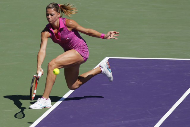 Camila Giorgi... (PHOTO GEOFF BURKE, ARCHIVES USA TODAY)