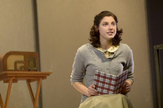 La parole d'Anne Frank est défendue sur scène... (Courtoisie)