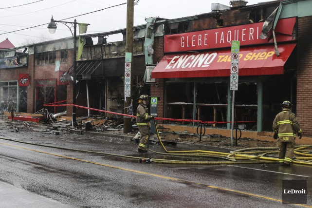 Selon une porte-parole du Service des incendies d'Ottawa,... (Patrick Woodbury, Archives LeDroit)