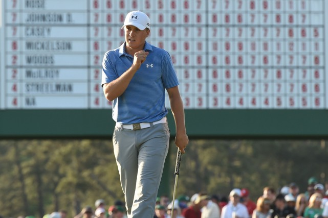 Jordan Spieth... (PHOTO TIMOTHY A. CLARY, AFP)