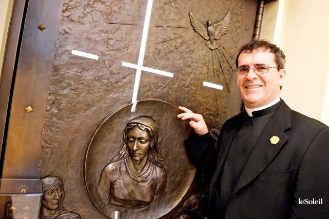 L'abbé Julien Guillot a été l'artisan du succès... (Le Soleil, Erick Labbé)