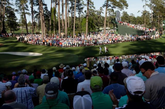 D'année en année, la direction du club Augusta... (Photo AP, Charlie Riedel)